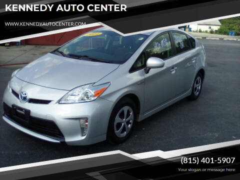 2014 Toyota Prius for sale at KENNEDY AUTO CENTER in Bradley IL