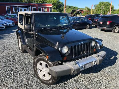 2008 Jeep Wrangler for sale at A&M Auto Sales in Edgewood MD
