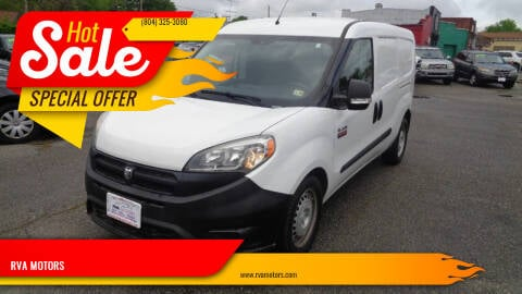 2016 RAM ProMaster City Cargo for sale at RVA MOTORS in Richmond VA