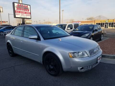 2003 Audi A4 for sale at ATLAS MOTORS INC in Salt Lake City UT