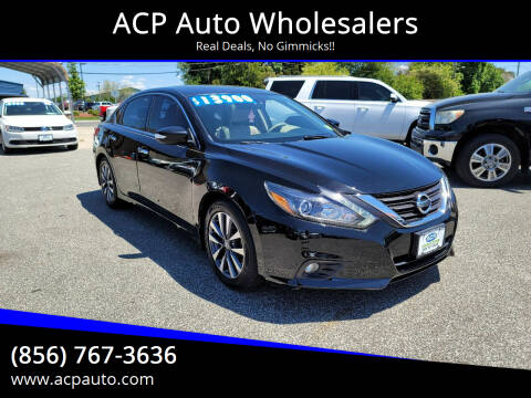2016 Nissan Altima for sale at ACP Auto Wholesalers in Berlin NJ