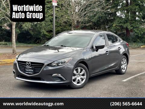 2016 Mazda MAZDA3 for sale at Worldwide Auto Group in Auburn WA