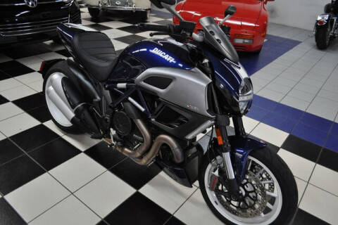 2013 Ducati Diavel for sale at Podium Auto Sales Inc in Pompano Beach FL