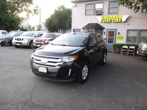 2013 Ford Edge for sale at Loudoun Used Cars in Leesburg VA