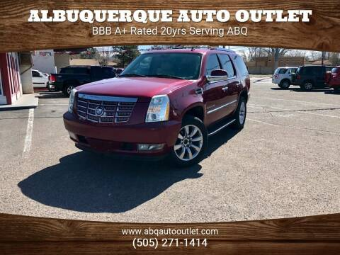 2007 Cadillac Escalade ESV for sale at ALBUQUERQUE AUTO OUTLET in Albuquerque NM