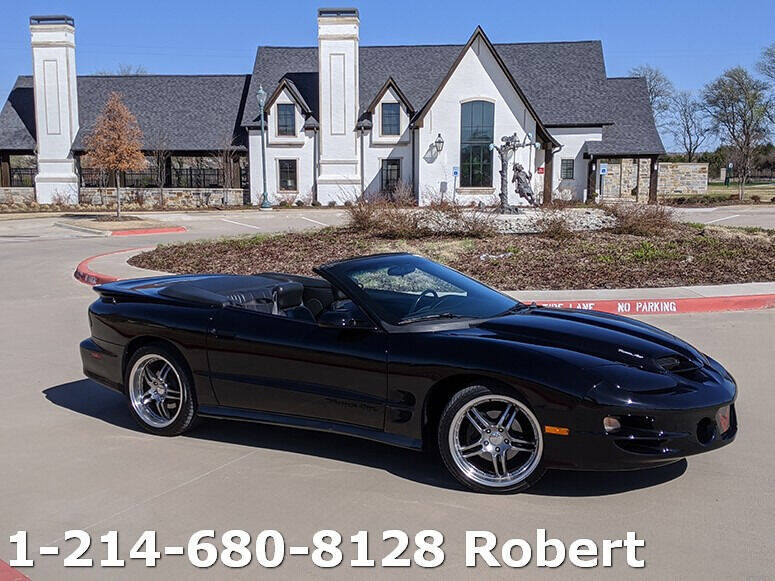2002 Pontiac Firebird for sale in Dallas, TX
