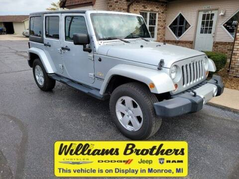2011 Jeep Wrangler Unlimited for sale at Williams Brothers - Pre-Owned Monroe in Monroe MI