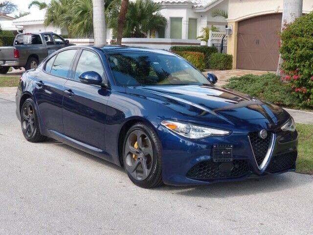 2017 Alfa Romeo Giulia for sale at Lifetime Automotive Group in Pompano Beach FL
