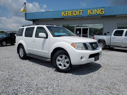 2008 Nissan Pathfinder for sale at Kredit King Autos in Montgomery AL