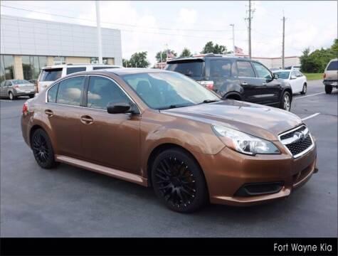 2013 Subaru Legacy for sale at BOB ROHRMAN FORT WAYNE TOYOTA in Fort Wayne IN