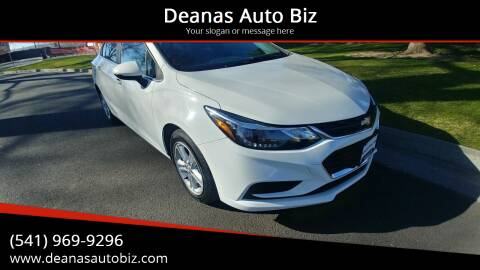 2018 Chevrolet Cruze for sale at Deanas Auto Biz in Pendleton OR