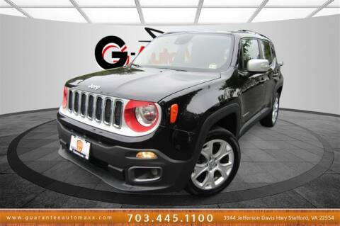 2016 Jeep Renegade for sale at Guarantee Automaxx in Stafford VA