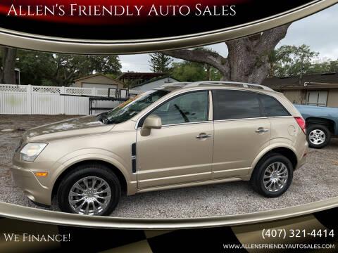2008 Saturn Vue for sale at Allen's Friendly Auto Sales in Sanford FL