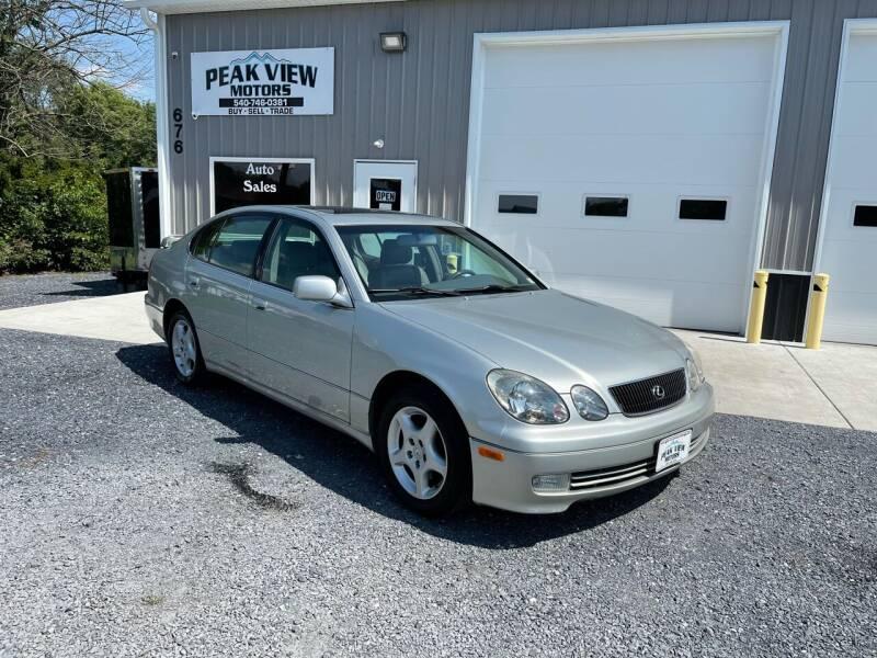 2000 Lexus GS 400 for sale in Mount Crawford, VA