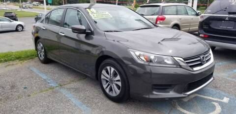 2014 Honda Accord for sale at ABC Auto Sales and Service in New Castle DE