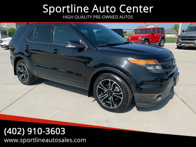 2015 Ford Explorer for sale at Sportline Auto Center in Columbus NE