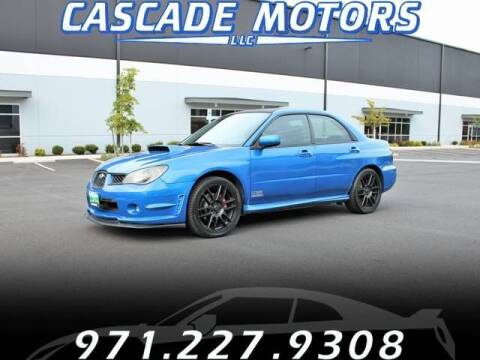 2007 Subaru Impreza for sale at Cascade Motors in Portland OR