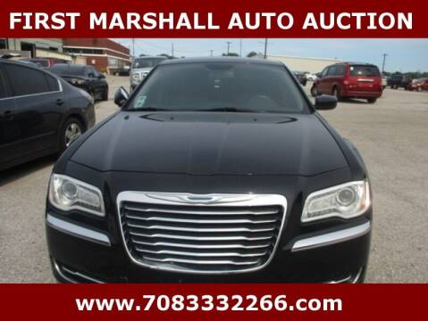 2013 Chrysler 300 for sale at First Marshall Auto Auction in Harvey IL