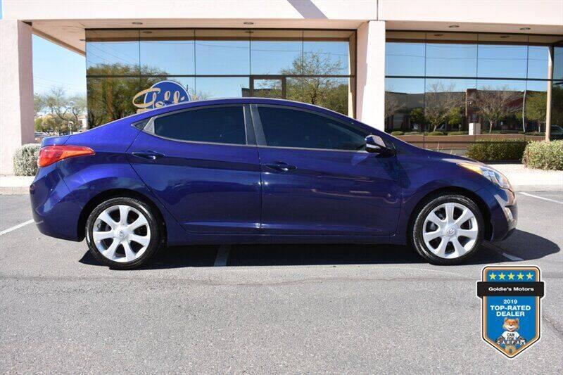 2011 Hyundai Elantra for sale at GOLDIES MOTORS in Phoenix AZ