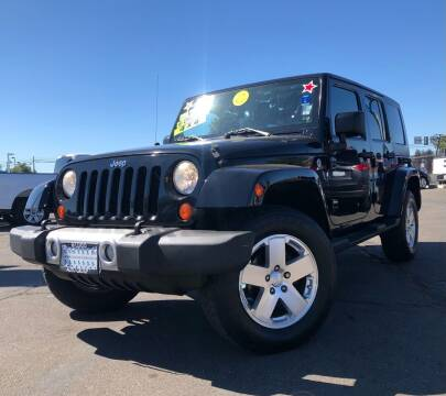 2010 Jeep Wrangler Unlimited for sale at LUGO AUTO GROUP in Sacramento CA