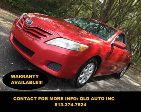 2011 Toyota Camry for sale at QLD AUTO INC in Tampa FL