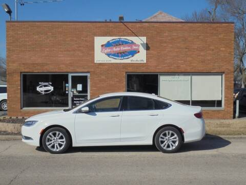 2016 Chrysler 200 for sale at Eyler Auto Center Inc. in Rushville IL