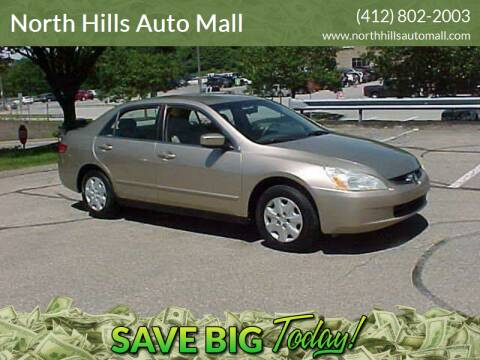 2004 Honda Accord for sale at North Hills Auto Mall in Pittsburgh PA
