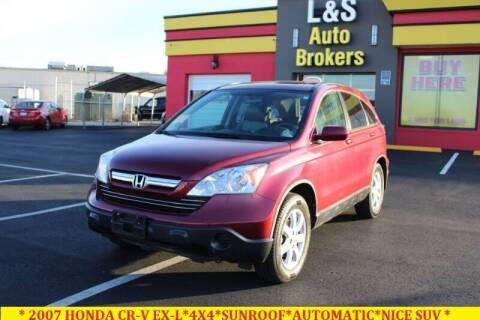 2007 Honda CR-V for sale at L & S AUTO BROKERS in Fredericksburg VA