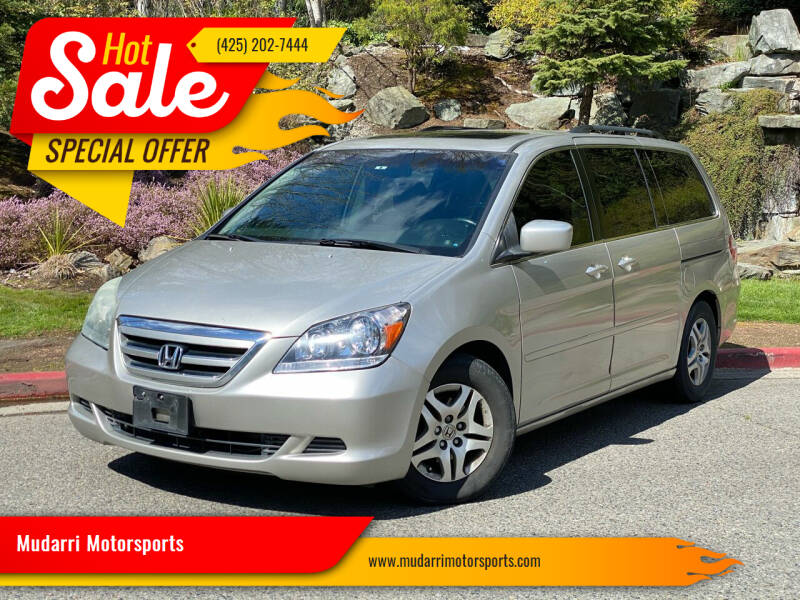 2006 Honda Odyssey for sale at Mudarri Motorsports in Kirkland WA