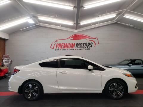 2015 Honda Civic for sale at Premium Motors in Villa Park IL