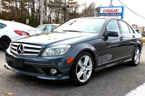2010 Mercedes-Benz C-Class for sale at Prime Auto Sales LLC in Virginia Beach VA