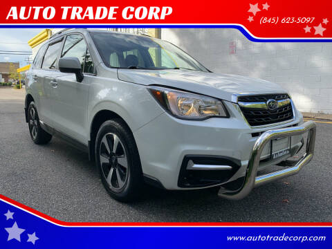2017 Subaru Forester for sale at AUTO TRADE CORP in Nanuet NY