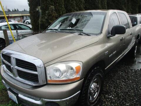 2006 Dodge Ram Pickup 1500 for sale at GMA Of Everett in Everett WA