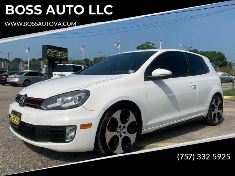 2010 Volkswagen GTI for sale at BOSS AUTO LLC in Norfolk VA