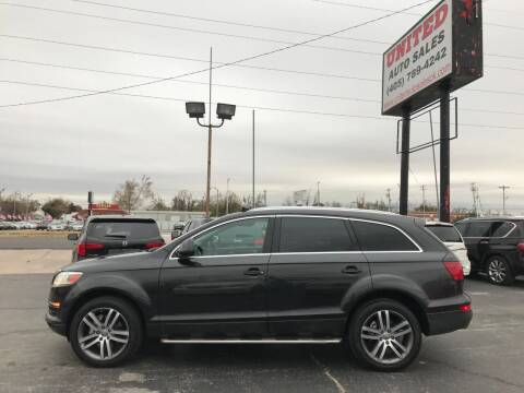 2008 Audi Q7 for sale at United Auto Sales in Oklahoma City OK