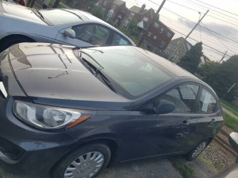 2012 Hyundai Accent for sale at Bottom Line Auto Exchange in Upper Darby PA