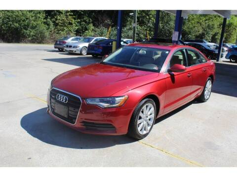 2014 Audi A6 for sale at Inline Auto Sales in Fuquay Varina NC