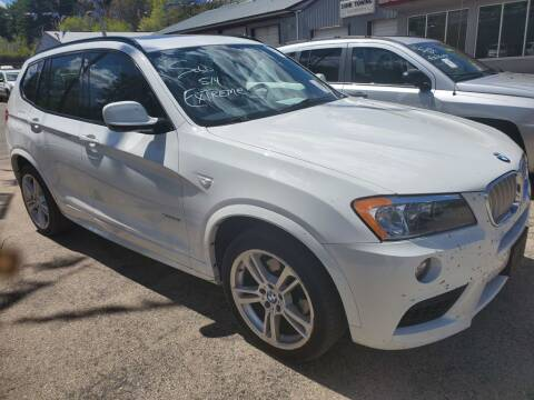 2012 BMW X3 for sale at Extreme Auto Sales LLC. in Wautoma WI