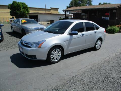 2010 Ford Focus for sale at Manzanita Car Sales in Gridley CA
