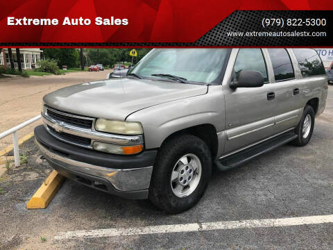 2000 Chevrolet Suburban for sale at Extreme Auto Sales in Bryan TX