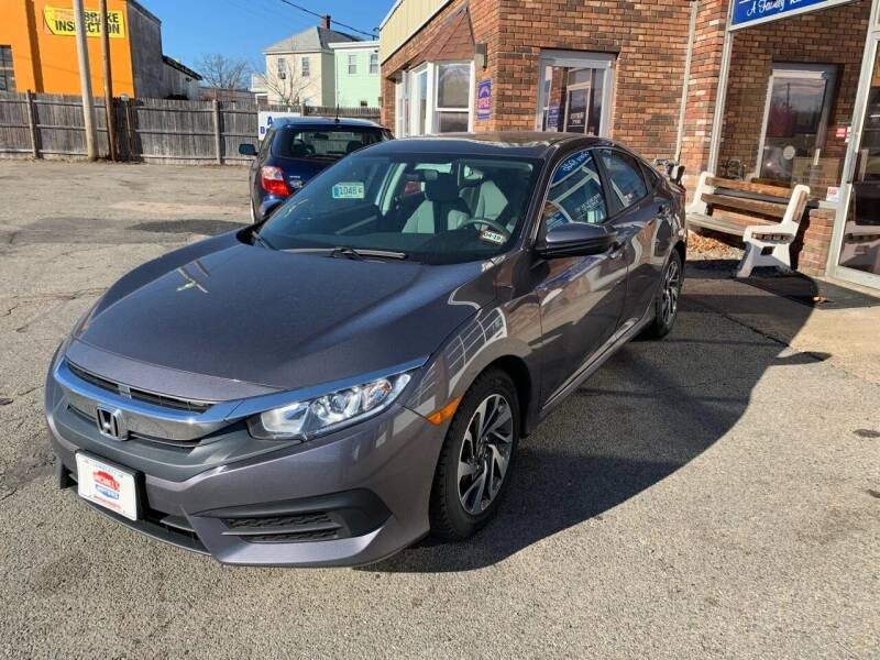2016 Honda Civic for sale at Michaels Motor Sales INC in Lawrence MA