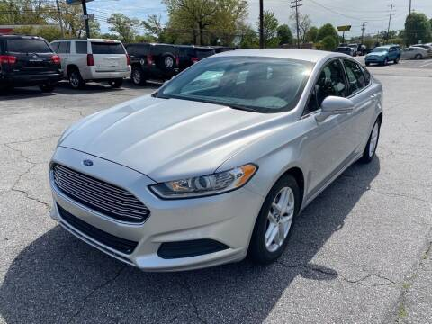 2013 Ford Fusion for sale at Brewster Used Cars in Anderson SC