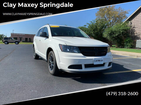 2018 Dodge Journey for sale at Clay Maxey Springdale in Springdale AR