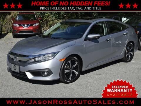 2016 Honda Civic for sale at Jason Ross Auto Sales in Burlington NC