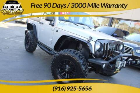 2011 Jeep Wrangler for sale at West Coast Auto Sales Center in Sacramento CA