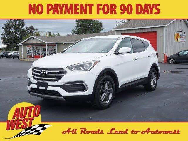 2018 Hyundai Santa Fe Sport for sale at Autowest of Plainwell in Plainwell MI