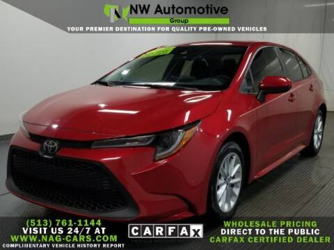 2020 Toyota Corolla for sale at NW Automotive Group in Cincinnati OH