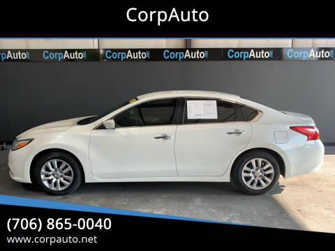 2016 Nissan Altima for sale at CorpAuto in Cleveland GA