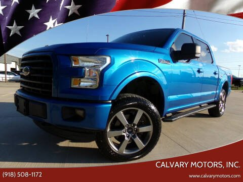 2015 Ford F-150 for sale at Calvary Motors, Inc. in Bixby OK