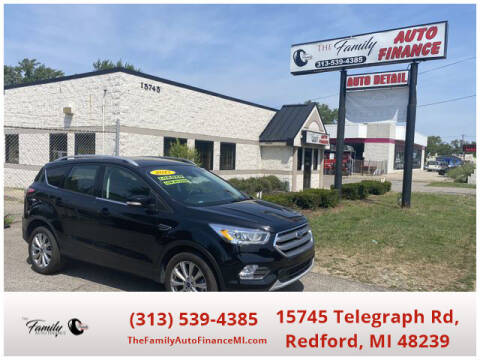 2017 Ford Escape for sale at The Family Auto Finance in Redford MI